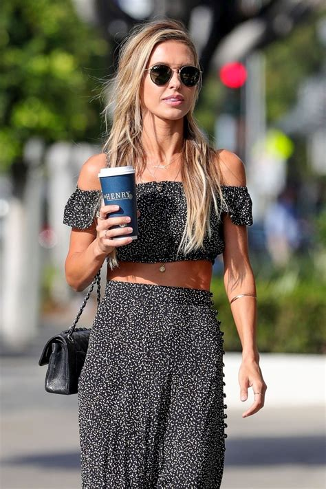 Street Style Audrina Patridge Out Los Angeles Justfabzz