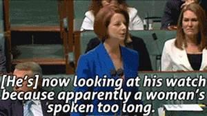 Misogyny in Pol... Tony Abbott Misogynist Quotes