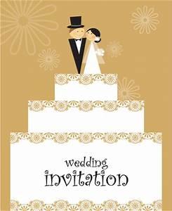 set of wedding invitation cards design vector free vector With wedding cards vector images free download