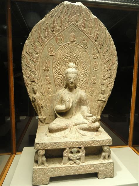 fileshrine  shakyamuni buddha chinese northern wei