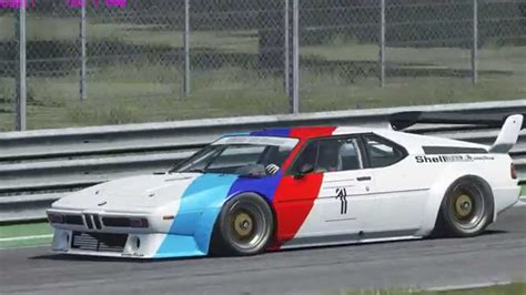 Assetto Corsa Bmw M1 At Monza