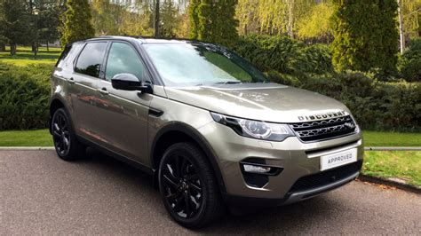 land rover discovery sport hse land rover discovery sport 2 0 sd4 240 hse black 5dr 7 seater diesel automatic 4x4 2017 at
