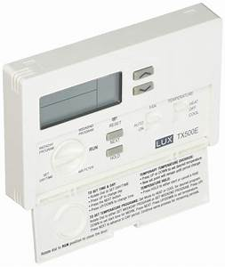 Lux Products Tx500e Smart Temp Programmable Thermostat