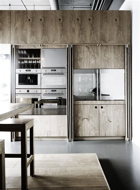 Disappearing Act: 14 Minimalist Hidden Kitchens   Remodelista