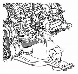 2012 Chrysler 200 Bracket  Engine Mount  Front