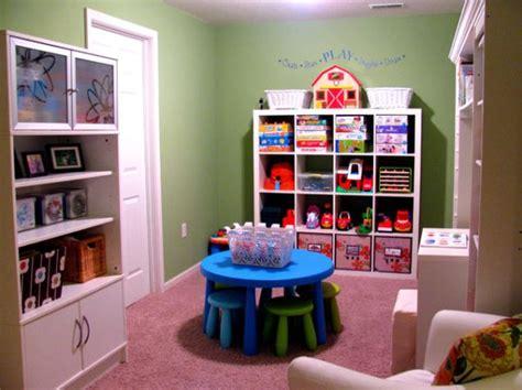Colorful Playroom Design Ideas