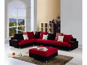 red sofa set black and red sofa set black and red sofa With sectional sofas red and black