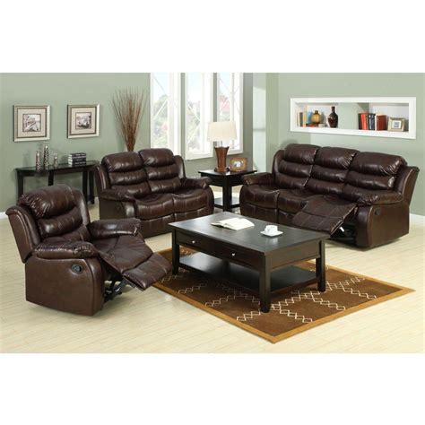 furniture  america berkshire dark brown faux leather