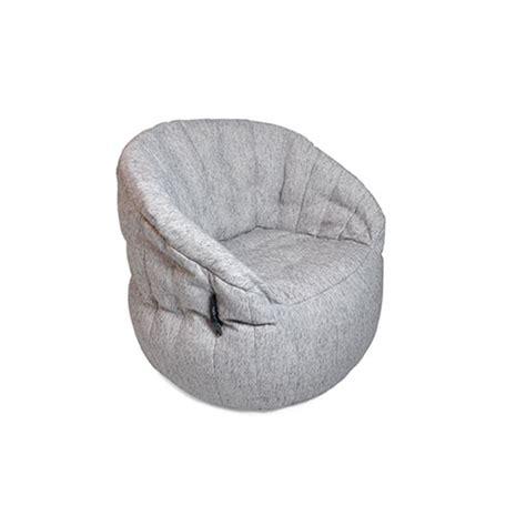 butterfly bean bag chair gold class grey