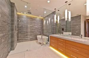 how you can make the tub shower combo work for your bathroom With carrelage adhesif salle de bain avec luminaire led mural