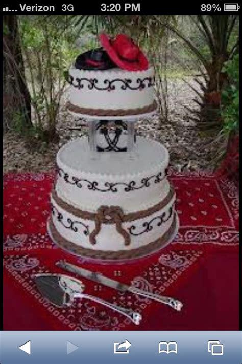 western wedding cakes ideas  pinterest cowboy