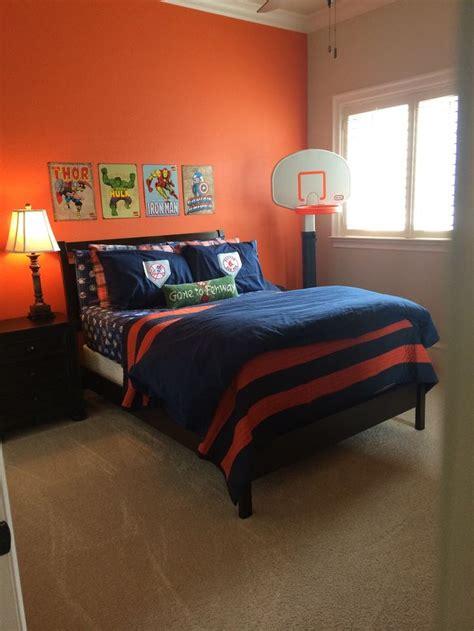 orange bedroom ideas home design
