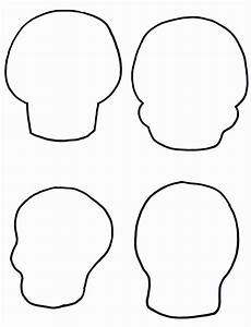 Skull Outline Drawings Clipart Best