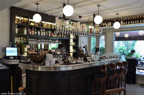 cuisine style bistro style brasserie house bar lounge area