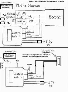 Chamberlain Garage Door Sensor Wiring Diagram