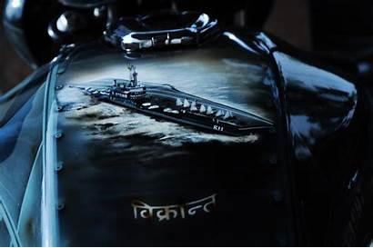 V15 Modified Bajaj Customs Eimor Vikrant Stickering