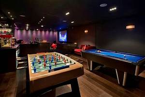 Luxury Man Cave ~ Game room ~ Bar | Man Caves ~ | Pinterest