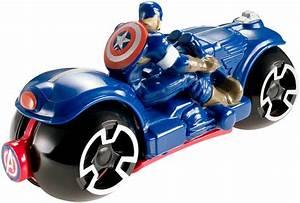 Action Auto Moto : hot wheels avengers moto with rider assortment captain america shop hot wheels cars trucks ~ Medecine-chirurgie-esthetiques.com Avis de Voitures