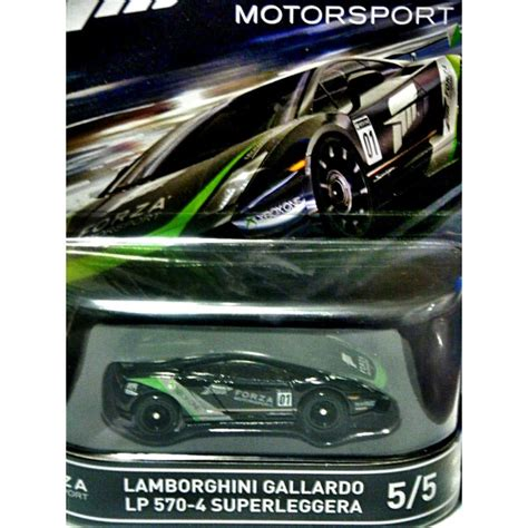 hot wheels forza motorsports lamborghini gallardo lp