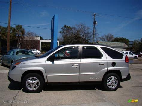 Liquid Silver Metallic 2005 Pontiac Aztek Standard Aztek