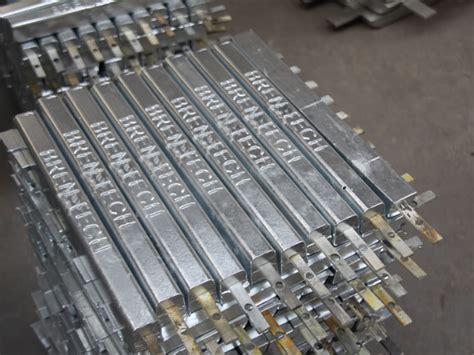 aluminum anodechina aluminum sacrificial anode manufacturer