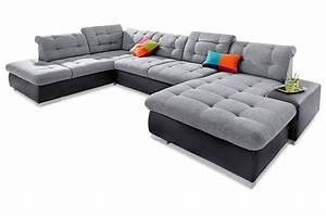 Wohnlandschaft Mit Schlaffunktion : wohnlandschaft palomino xxl mit schlaffunktion grau sofas zum halben preis ~ Eleganceandgraceweddings.com Haus und Dekorationen