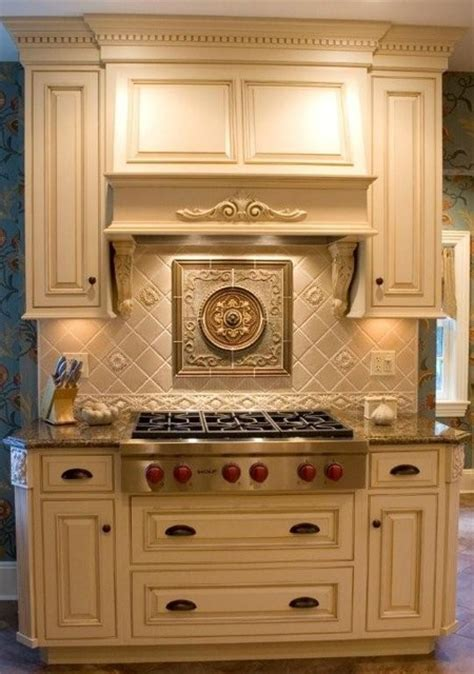 kitchen backsplash medallion circle medallion supplied by sonoma tile traditional kitchen new york by fiorano tile