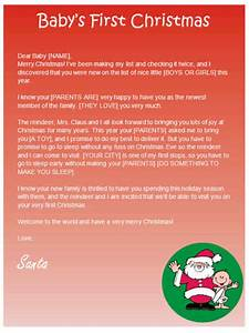 babys first christmas letter from santa other files With baby s first christmas letter from santa template