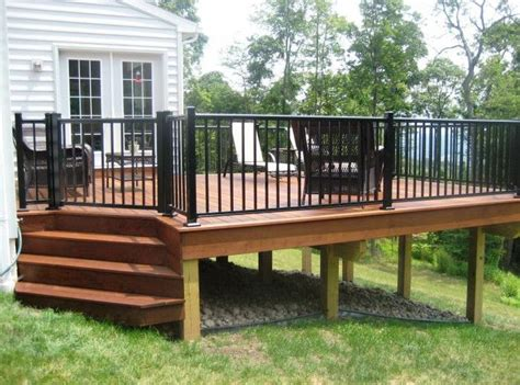 Wood Porch Railing Systems by Best 25 Deck Railing Systems Ideas On Cable