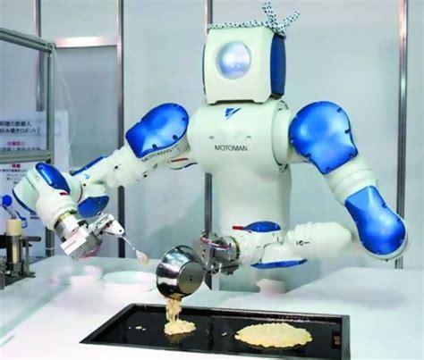 robot qui fait la cuisine 机器人做饭 图 网易新闻