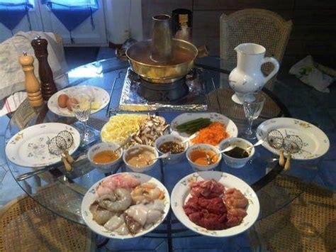 calorie cuisine chinoise 17 meilleures idées à propos de fondue chinoise sur