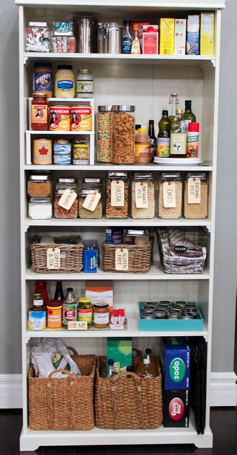 Organizing A Pantry In 5 Simple Steps Homesfeed