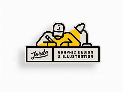 Personal Logos Dribbble Animated Designers Jordan Brand