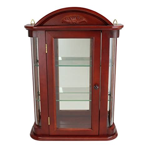 small curio cabinets walmart best wall mounted curio cabinets best rated wall mounted