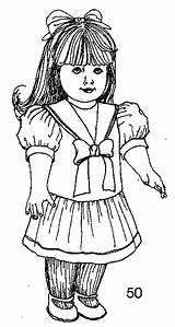 Doll American Printables Printable Coloring sketch template