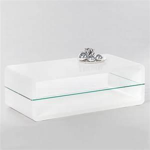 Couchtisch Weiß Mit Glasplatte : couchtisch triton 2 wohnzimmertisch in hochglanz wei mit ~ Whattoseeinmadrid.com Haus und Dekorationen