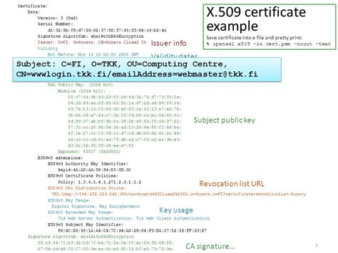Certificates And Network Security  Ppt Video Online Download