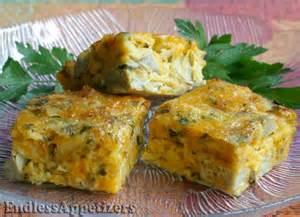 Artichoke Squares Appetizer Recipe