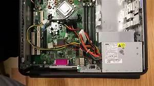 Installing A Power Supply In A Dell Optiplex Gx620 Motherboard
