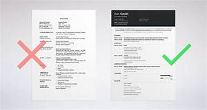 How to choose the best resume layout templates examples for Good resume layout