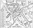 Berkshire History: Maps: John Speed's Map of Reading 1610