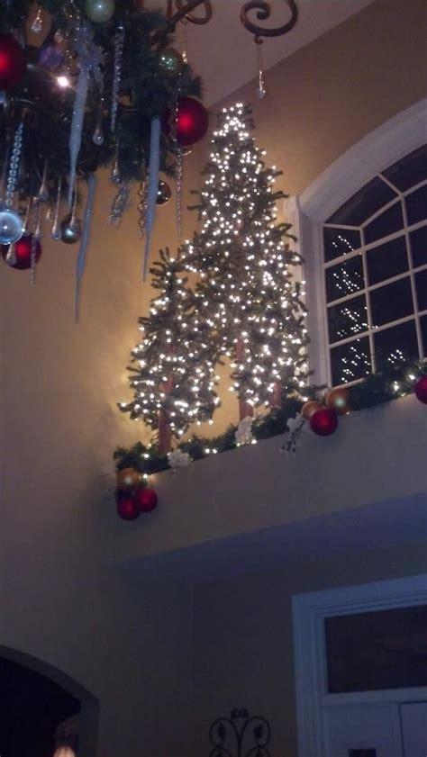 christmas trees   window ledge christmas tree
