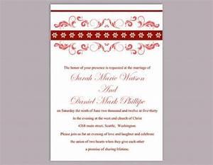 diy wedding invitation template editable word file nstant With diy wedding invitations in word