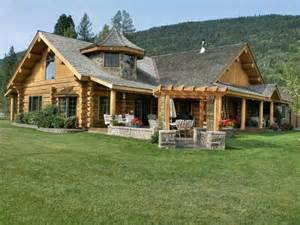 country house plans with wrap around porches log log homes