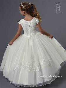 What Is My Size Chart Angel Flower Girl Dresses Style F551 In Ivory Or White