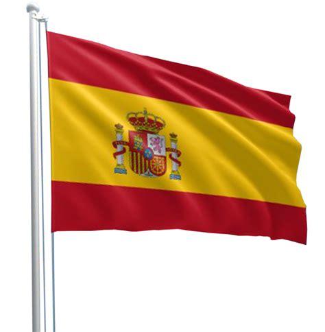 spanish flag  pole transparent image spanish flags