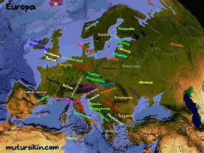 Europe Carte Country Language Basque Chaque Cada