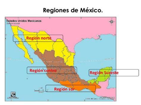 las regiones naturales de mxico clases de geograf 237 a semana 7 a la 9
