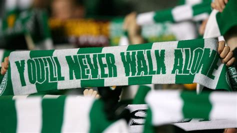 You'll Never Walk Alone - Sadness as singer of Celtic and ...