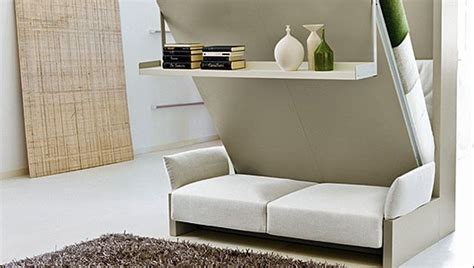 murphy wall bed couch combo   sofa  front